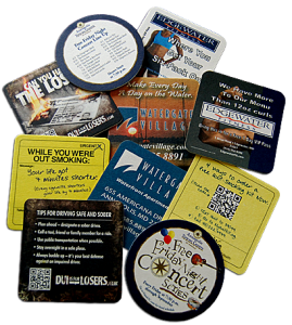 ITA Promotions Coaster Advertising