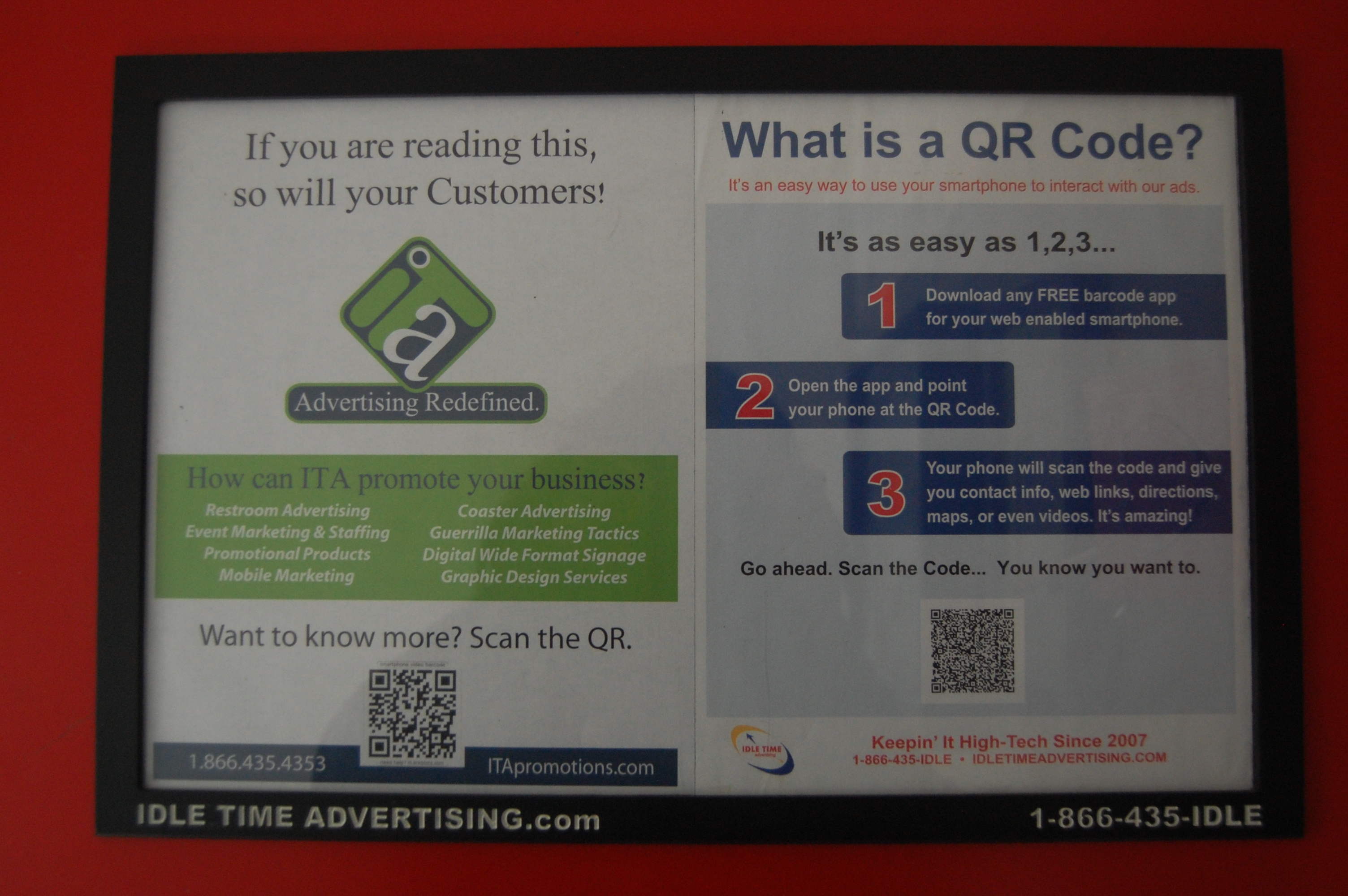 Ita promotions baltimore md guerrilla marketing restroom quick contact solutioingenieria Images