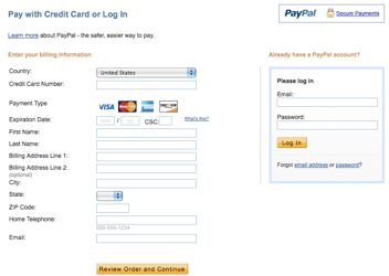 Pay your ITA bill Online with Paypal