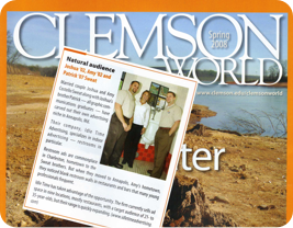 Clemson World ITA Blurb